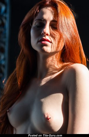 Image. Sexy nude red hair photo