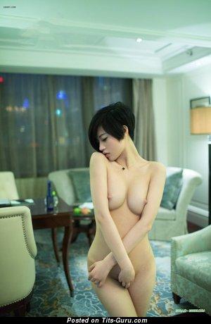 Image. Lina - nude asian with big natural tots image