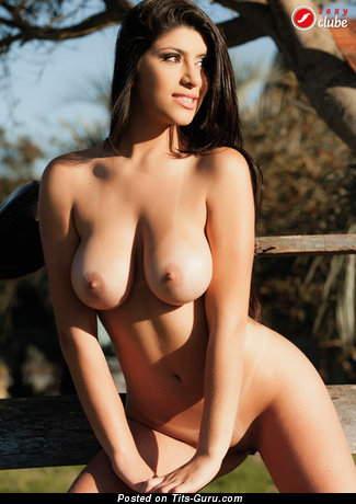 Image. Nude awesome female with big natural tittys image