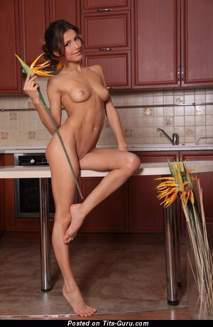 Image. Naked hot woman with small natural tots picture