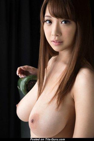 Shion Utsunomiya - Exquisite Japanese Brunette Pornstar & Girlfriend with Splendid Bare D Size Tittes & Huge Nipples (Xxx Pix)