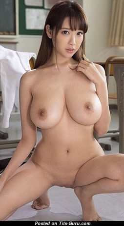 Superb Asian Babe with Superb Bare Real D Size Breasts (Hd Sex Foto)
