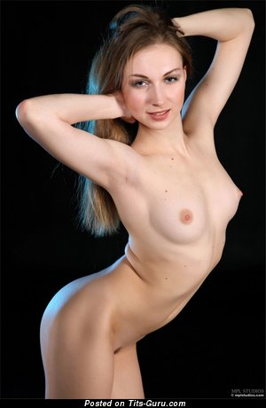 Image. Wonderful female with natural breast image