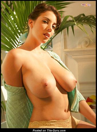 Image. Jelena Jensen - nude beautiful woman with big natural tittes image