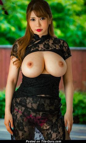 Image. Anri Okita - naked asian with big natural boobies photo