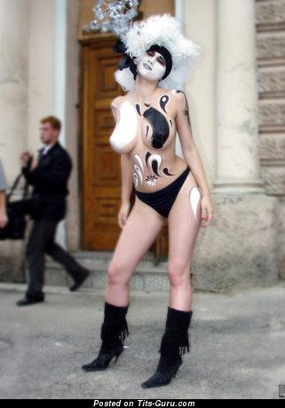 Lidiya Krasnoruzheva - Yummy Miss with Yummy Nude Real G Size Melons (Porn Wallpaper)