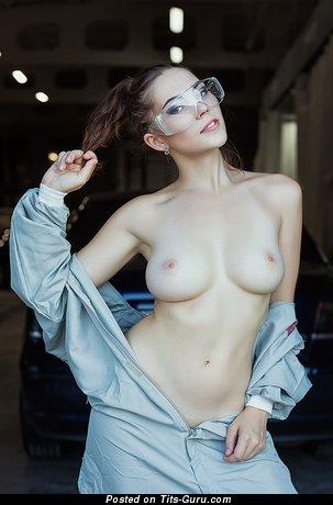 Ksyusha Egorova - Grand Russian Floozy with Grand Nude Real Dd Size Tittes (Hd Sexual Wallpaper)
