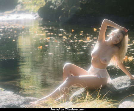 Megan Moore - Pleasing Naked Playboy Blonde (18+ Pic)