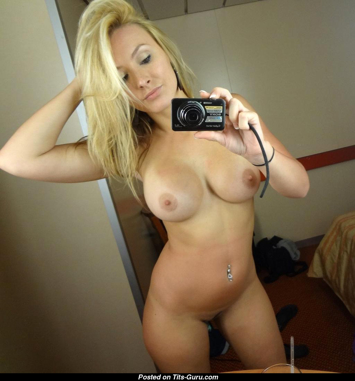 Think, that hot blonde naked xxx selfy there