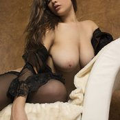 Delightful Glamour Woman with Delightful Bald Natural Substantial Tits (Hd 18+ Image)
