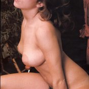 Linda Gordon - hot girl with natural tittes and big nipples vintage