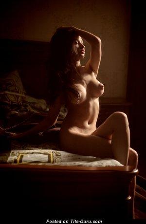 Image. Naked awesome female with big boob image