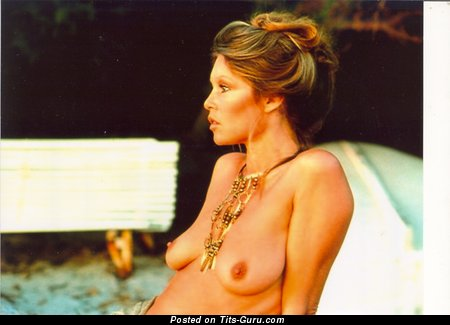 Brigitte Bardot - Perfect French Blonde with Perfect Exposed Natural Paltry Boobys (Hd Xxx Image)