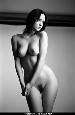 Image. Nude awesome woman with medium natural tittys photo