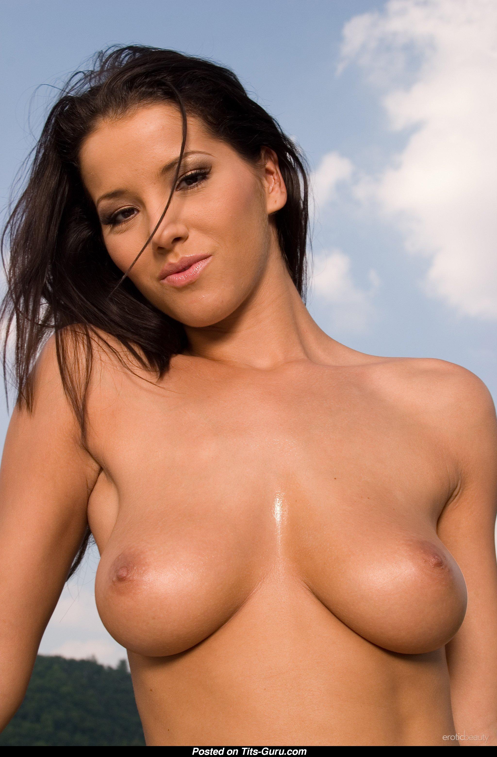 medium sized naked boobs