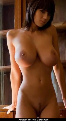 Perfect Babe with Perfect Nude Real Tots (Hd 18+ Image)