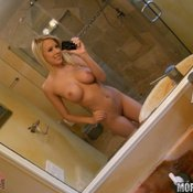 Bibi Jones - blonde with big breast image
