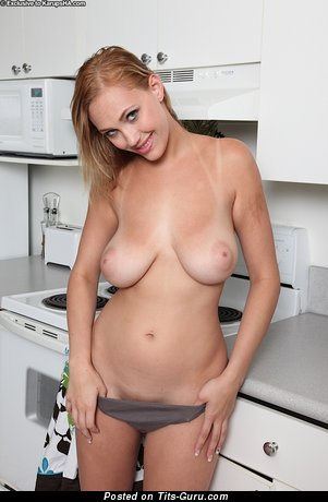 Delightful Doxy with Delightful Bare Real Soft Boobie (Sexual Picture)