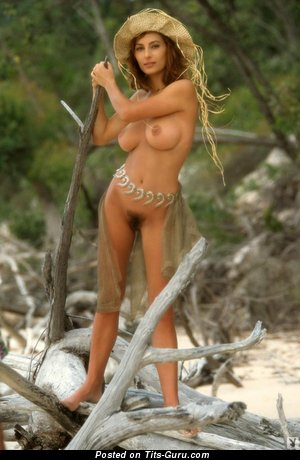 Shannon Long - Charming Australian Playboy Doll with Charming Exposed Round Fake Regular Melons (Sexual Wallpaper)
