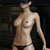 Hot girl with big natural boobies photo
