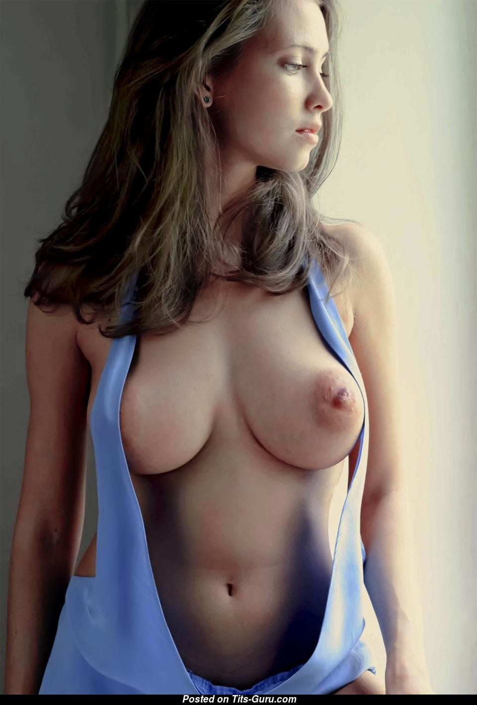 Girl with perfect nipples