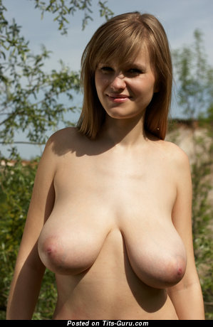 Svanhild - naked awesome female with big natural boobs image