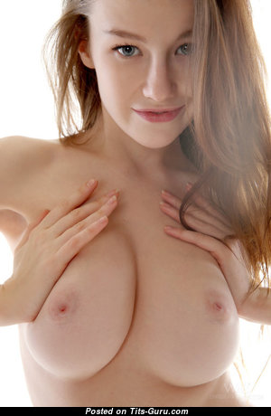 Emily Bloom - Pleasing Ukrainian Red Hair with Pleasing Exposed Real Firm Tit (Sexual Pic)