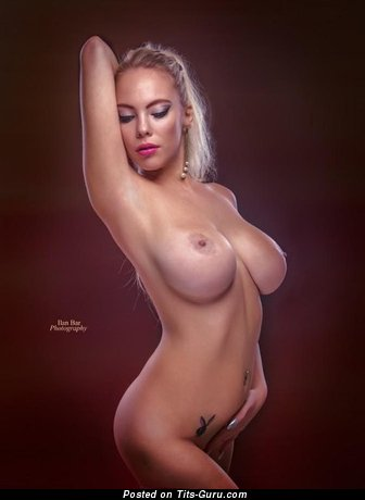 Image. Nude blonde with big tits photo