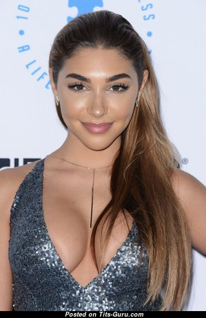 Chantel Jeffries - Alluring Non-Nude American Red Hair with Alluring Real Medium Sized Boob (Hd Porn Photoshoot)
