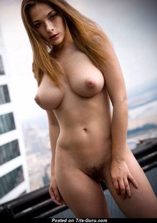 Pleasing Babe with Pleasing Bare Natural Medium Sized Boobies (Xxx Picture)
