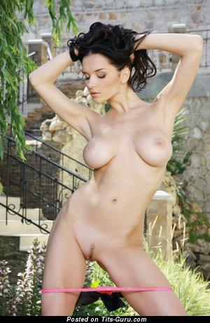 Image. Jenya D - nude amazing female with medium tits pic