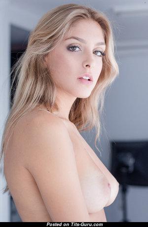 Naked blonde photo