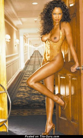 Garcelle Beauvais - Sweet Haitian, American Brunette Actress with Sweet Bald Natural Knockers (Hd Xxx Picture)