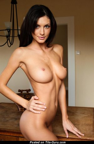 Image. Naked awesome girl with natural tits image