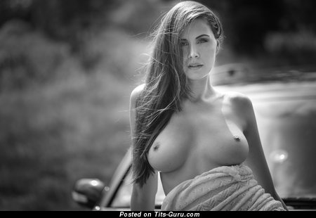 Image. Nude nice lady with natural breast picture