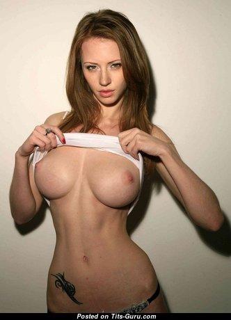 Katarina Olendzskaia - Splendid Russian Red Hair Girlfriend & Babe with Splendid Defenseless Mid Size Boobs (Sex Picture)