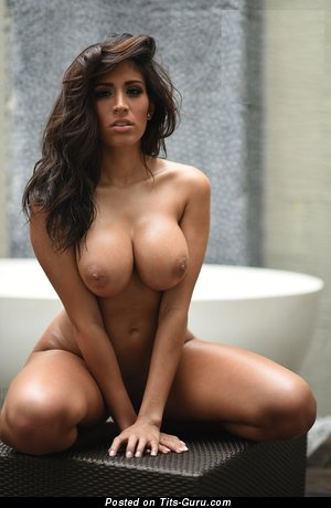 Jazmine Miner - Exquisite Brunette Babe with Exquisite Bald Medium Sized Boobys (Hd Xxx Photoshoot)