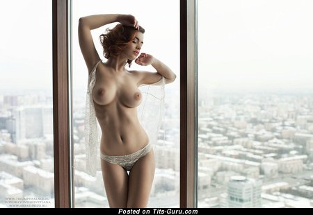 Lidia Savoderova - Gorgeous Topless Russian Babe with Gorgeous Open Real Soft Tittys (Hd Sexual Pix)