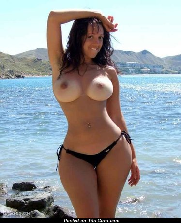 Image. Sexy wonderful woman with big boob image