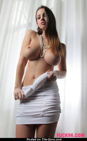 Lucia Javorcekova - sexy topless amateur awesome female with big tittes and big nipples image