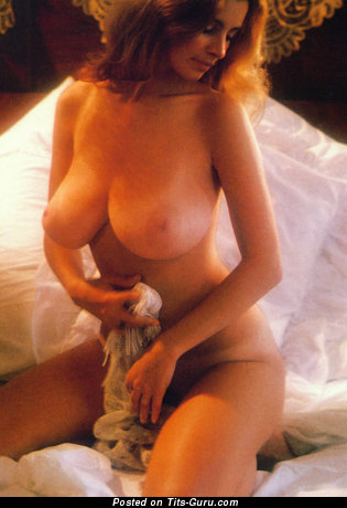 Image. Janet Lupo - nude beautiful lady with big natural boob vintage