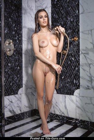 Image. Naked hot lady with natural tits image
