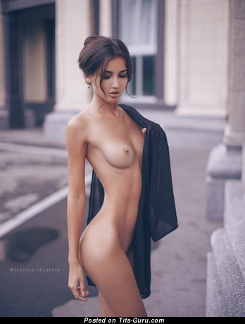 Hot Topless Babe with Hot Defenseless Real Aa Size Tittes (Sexual Image)