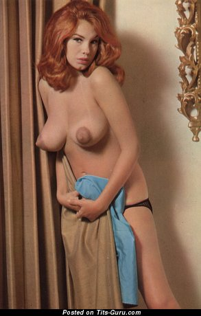 Wonderful Red Hair with Wonderful Exposed Real C Size Boobs (Vintage Hd Sexual Wallpaper)
