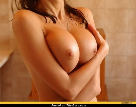 Image. Naked beautiful woman with big boob photo