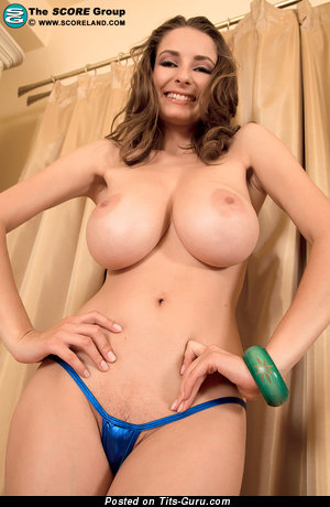 Image. Estelle Taylor - naked hot girl with huge natural boob image