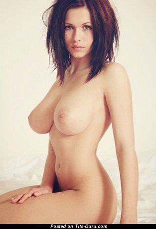 The Nicest Skirt with The Nicest Naked Real H Size Breasts (18+ Photoshoot)