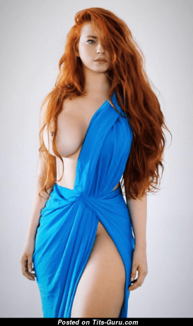 Alluring Nude Red Hair Babe (Hd Xxx Picture)