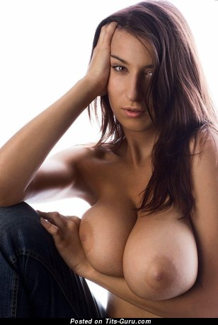 Jana Defi: nude awesome female with big boob image