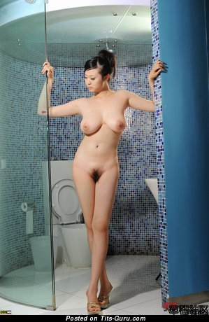 Fascinating Asian Doxy with The Best Bald Natural C Size Titty (Hd Sex Photoshoot)